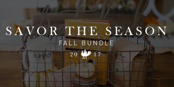 Savor the Season Fall Bundle
