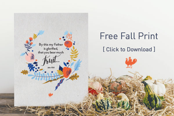 John 15:8 Free Fall Download