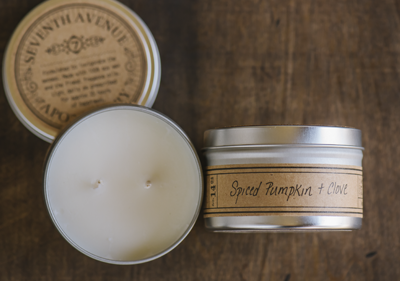 Seventh Ave. Apothecary Spiced Pumpkin and Clove Candle