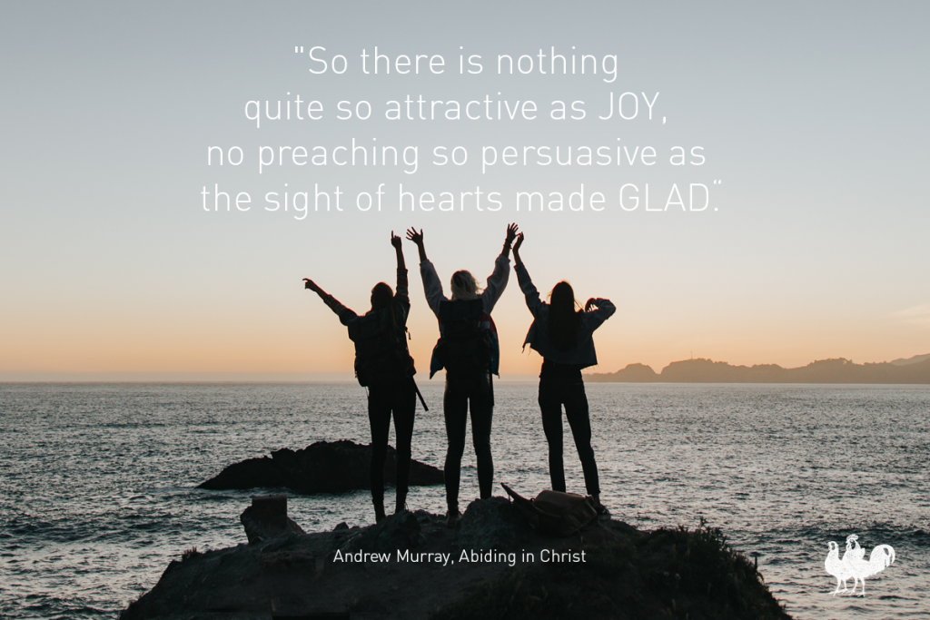 Andrew Murray quote in JOY