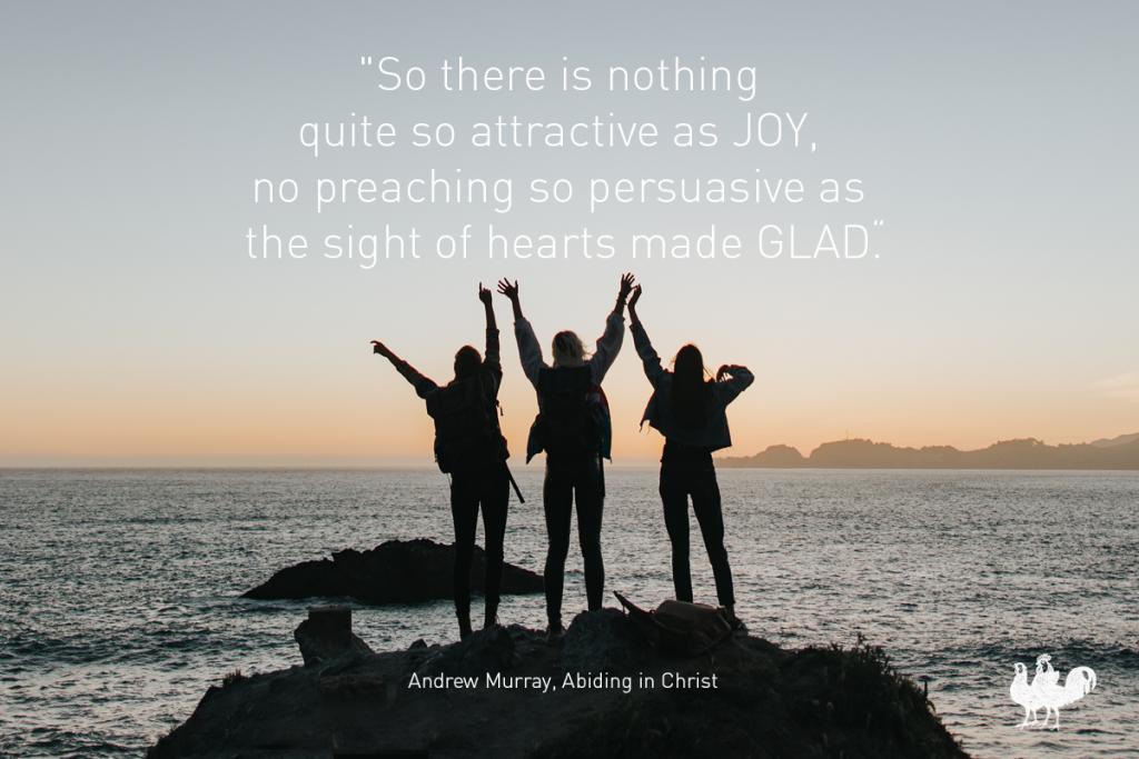 Andrew Murray quote in JOY